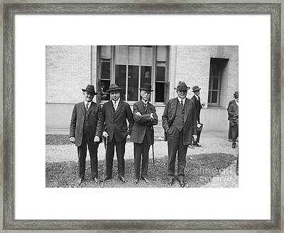Third Us National Radio Conference, 1924 Framed Print