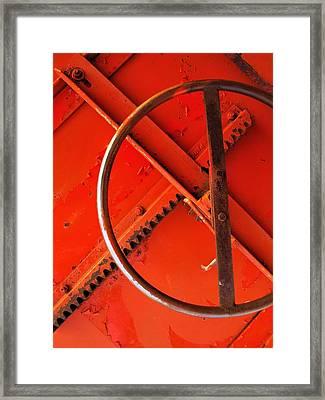 Third Wheel Framed Print by Tom Druin