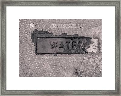 Thirst  Framed Print by Steven Milner