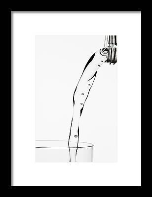 Water Bottle Framed Prints