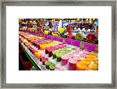 Thirsty - Take Your Pick Framed Print