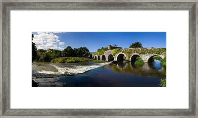 Thirteen Arch Bridge Over The River Framed Print