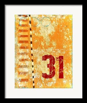 Numerical Framed Prints