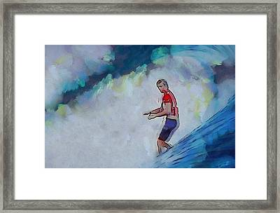 Thirty Seconds Of Freedom Framed Print