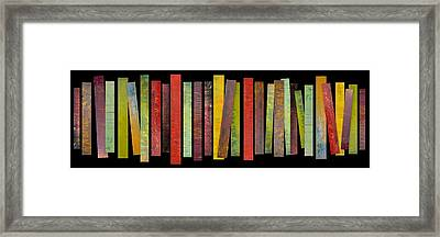 Thirty Stripes 1.0 Framed Print by Michelle Calkins