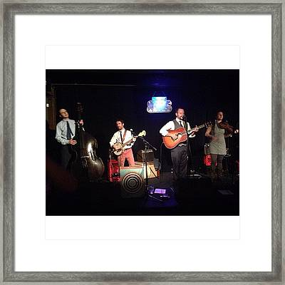 This Band Is A Good Time! If You Hear Framed Print