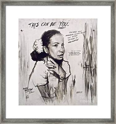 This Can Be You Framed Print