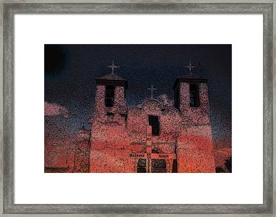 Framed Print featuring the digital art This  by Cathy Anderson