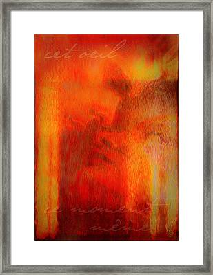 This Eyes Framed Print by Li   van Saathoff