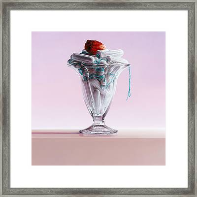 This Illusion Framed Print by Mark Van crombrugge