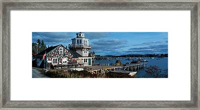 This Is A Lobster Village In New Framed Print by Panoramic Images