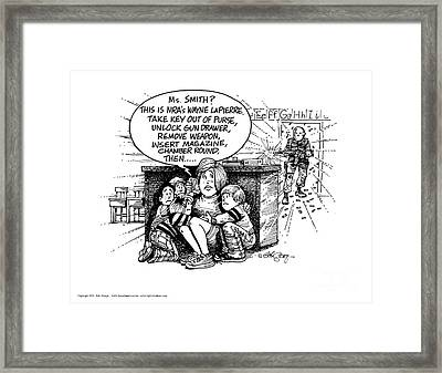 This Is A Solution? Framed Print by Bob  George