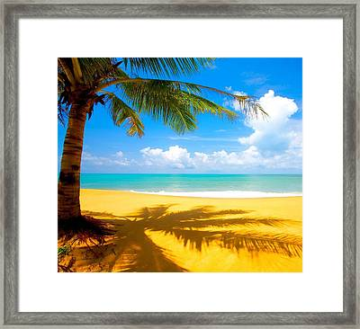 This Is About Living Life Framed Print