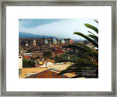 This Is Cuenca II Framed Print by Al Bourassa
