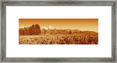 This Is Grand Teton National Park Framed Print