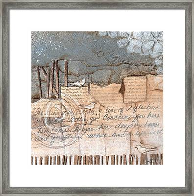 This Is Her Winter Time Framed Print