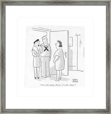 This Is Mr. Digby Framed Print