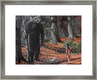 This Is My Land Framed Print