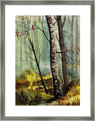 This Is My Territory Framed Print by Marilyn Smith