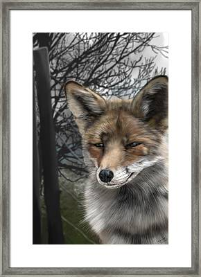 This Is Not Adlestrop Framed Print