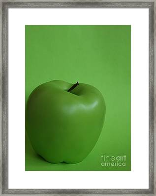 This Is Not An Apple Framed Print