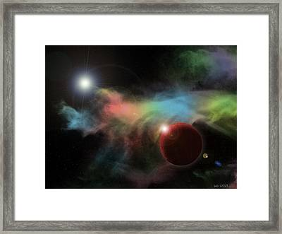 This Is Not Space Framed Print