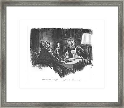 This Is Real Grade Framed Print by Wallace Morgan