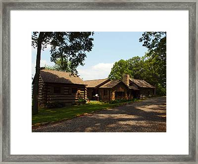 This Is The Cabin Framed Print by Robert Margetts