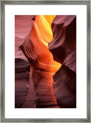 This Is The Moment Framed Print