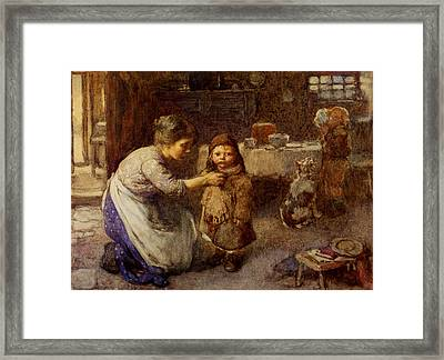 This Is The Way To Go To School Framed Print by John Henshall