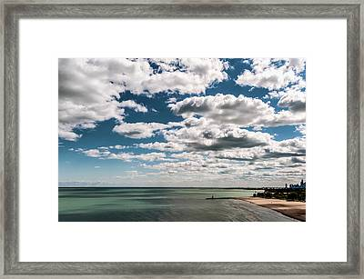 This Is What 58 Degrees Looks Like Framed Print