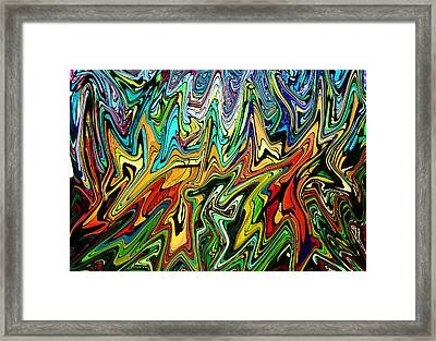 This Is Your Brain Framed Print by James Hammen