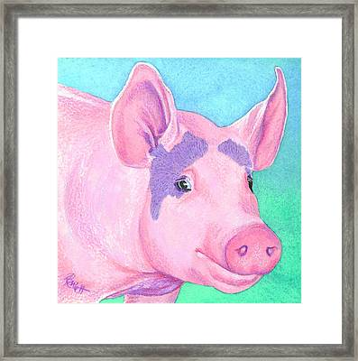 This Little Piggy Framed Print