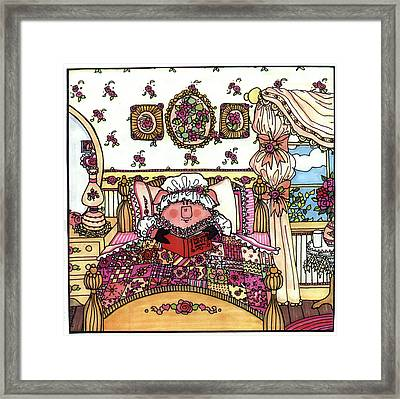 This Little Piggy Stayed Home Framed Print
