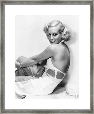 This Modern Age, Joan Crawford, 1931 Framed Print