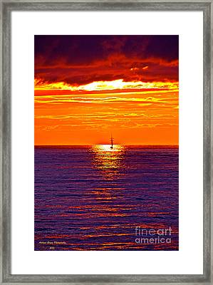 This Must Be Heaven - When Dreams Come True - Thank You Framed Print by  Andrzej Goszcz