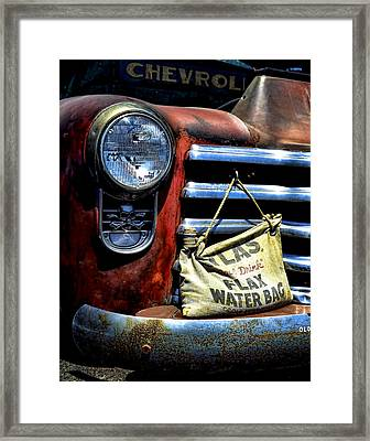 This Ol' Chevy Framed Print