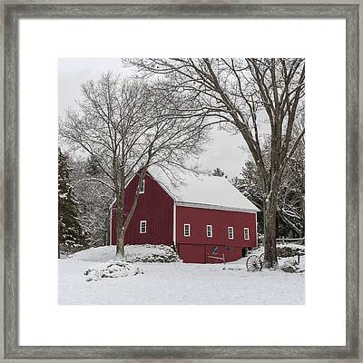 This Old Barn Framed Print by Jean-Pierre Ducondi