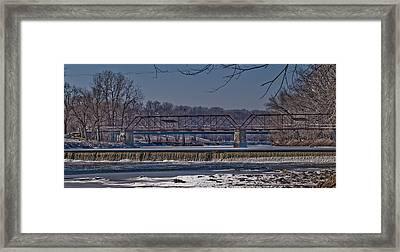 This Old Bridge Framed Print by Joe Scott