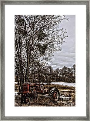 This Old Farmall - No.9669 Framed Print by Joe Finney