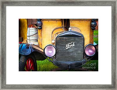 This Old Ford Framed Print by Colleen Kammerer