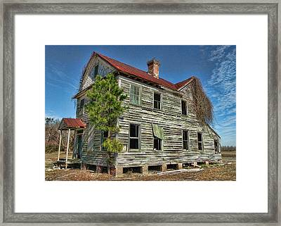 This Old House 2 Framed Print by Victor Montgomery