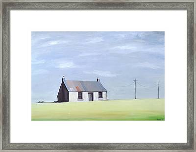 This Old House Framed Print by Ana Bianchi