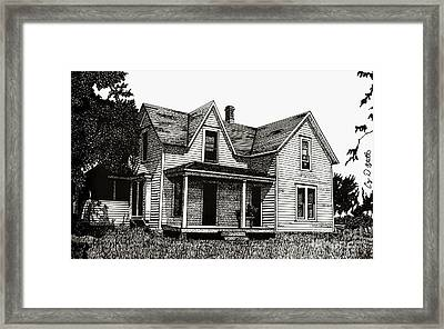 This Old House Framed Print by Cory Still