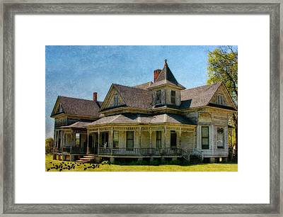 This Old House Framed Print by Joan Bertucci