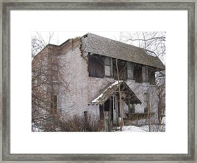This Old House Framed Print by Jonathon Hansen