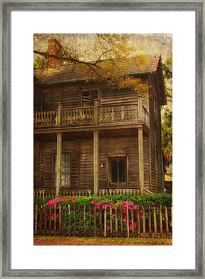 This Old House Framed Print by Kim Hojnacki