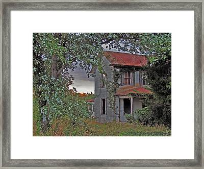This Old House Framed Print by Trish Clark