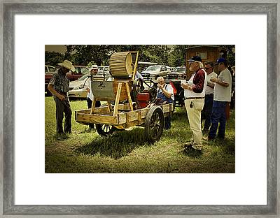This Old Machine Framed Print