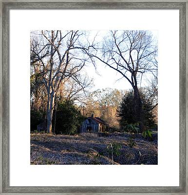 This Ole House Framed Print by Leon Hollins III